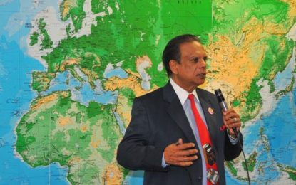 Guyanese-born judge celebrates 50 years in the US