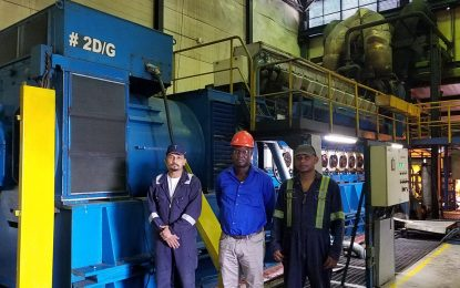 Guyana's 'Energizer Bunnies'…  How two 26-year-old engines confounded Wartsila