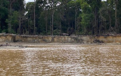 Miner fined $12M for damaging Cuyuni River; another gets jail time for breaches
